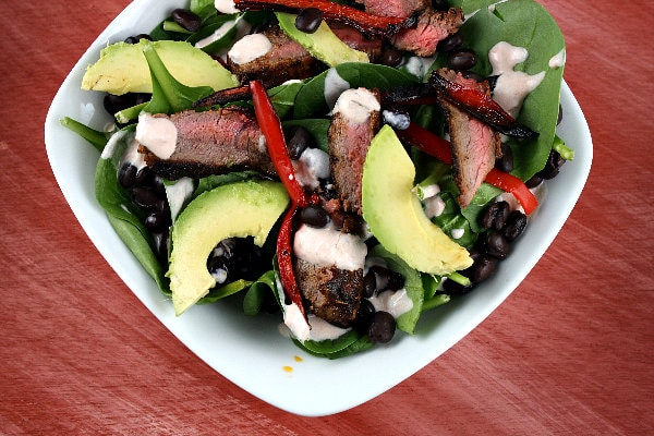 Steak Salad Recipes — Dishmaps