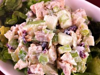 Chicken Apple Crunch Salad
