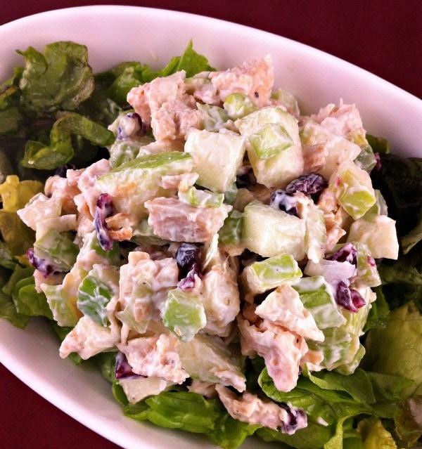 Chicken Apple Crunch Salad