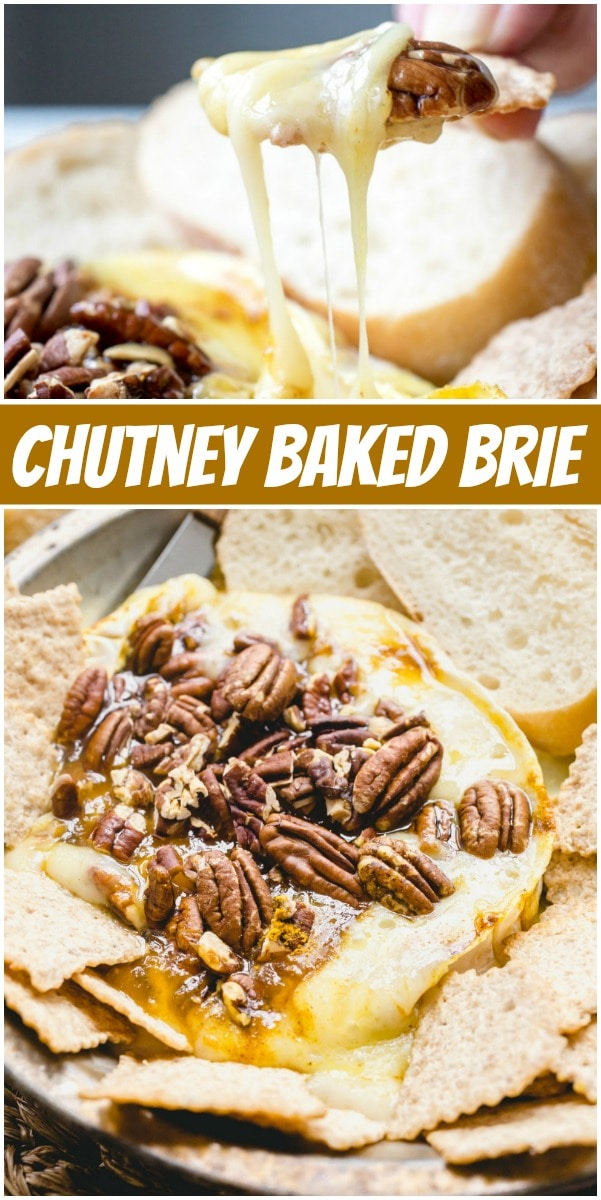 Chutney Baked Brie