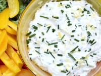 Lemon Chive Cheese Dip