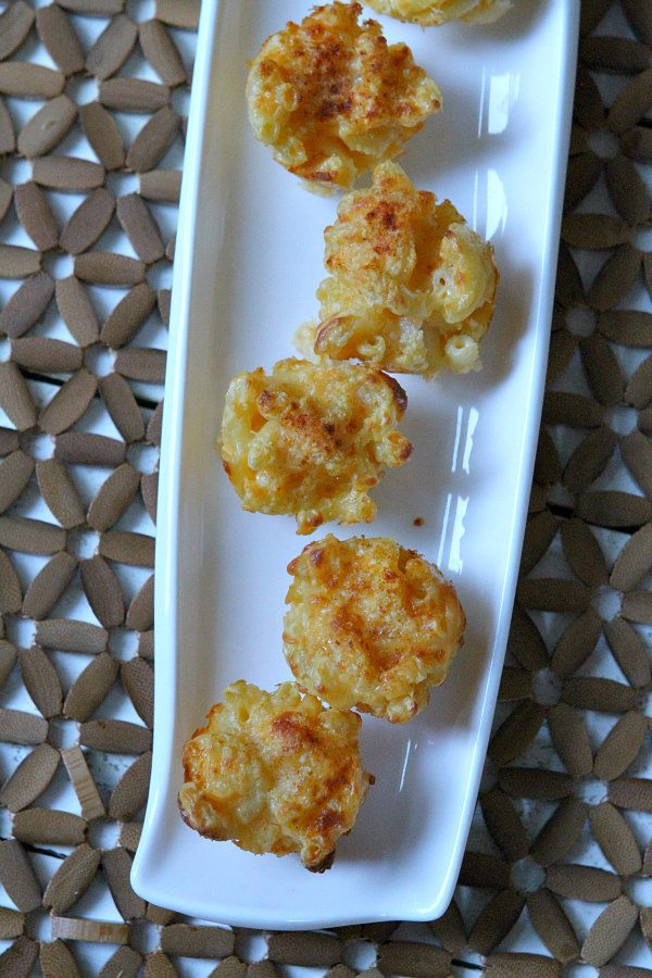 Mini Macaroni and Cheese Appetizers