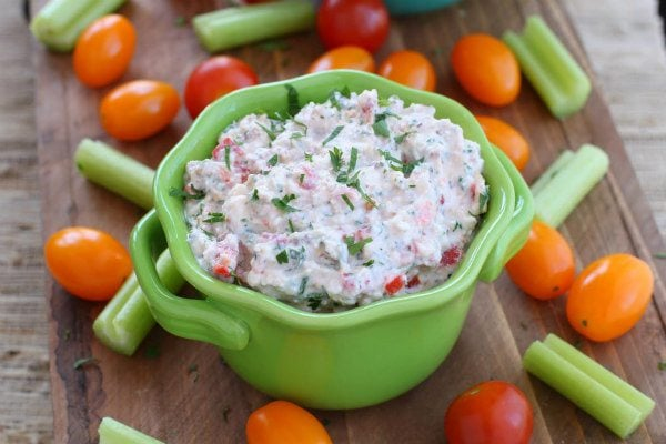 Pine Nut and Feta Cheese Dip