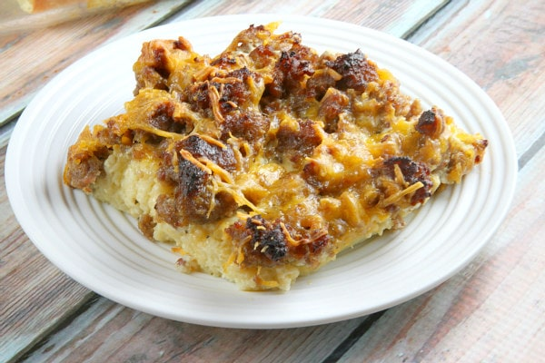 Easy Sausage Breakfast Casserole