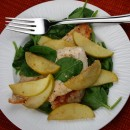 Apple Spinach Chicken