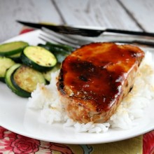 Barbecued Pork Chops