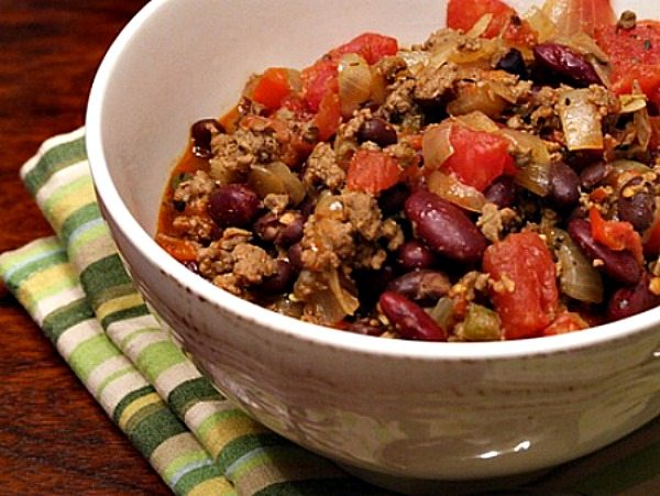 Beef and Bean Chili Recipe