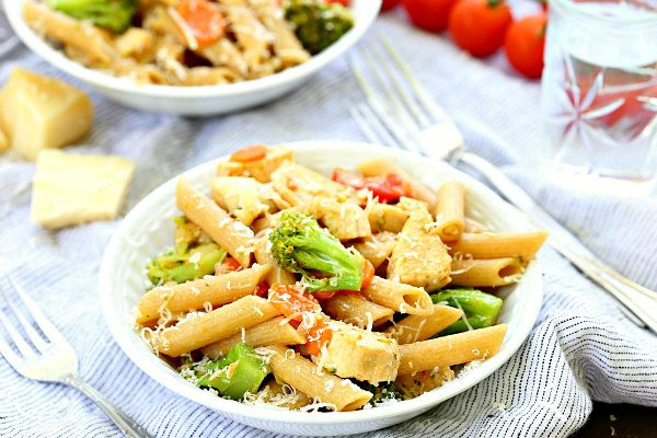 Chicken Pasta Primavera Recipe Girl