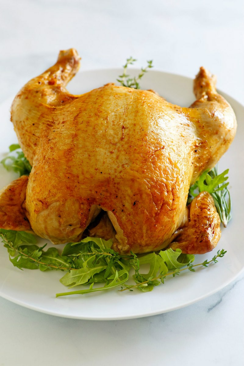 Cider Roasted Chicken Recipe Girl