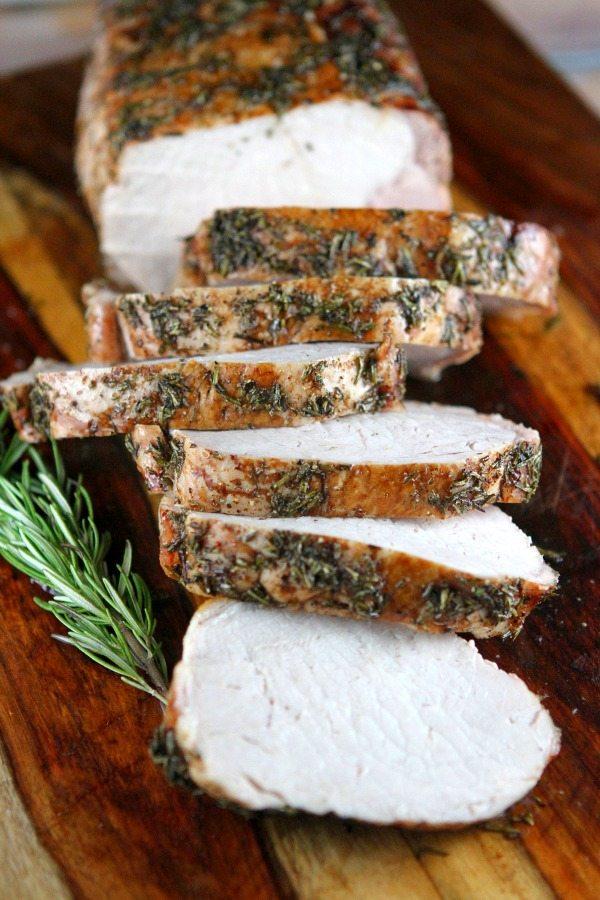 Rosemary Pork Roast