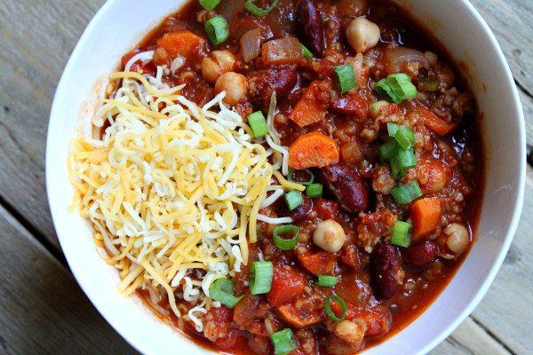 Spicy Vegetarian Chili - Recipe Girl