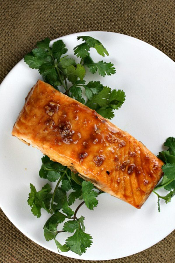 Asian Salmon Steaks