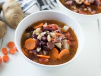 Bean and Chorizo Soup