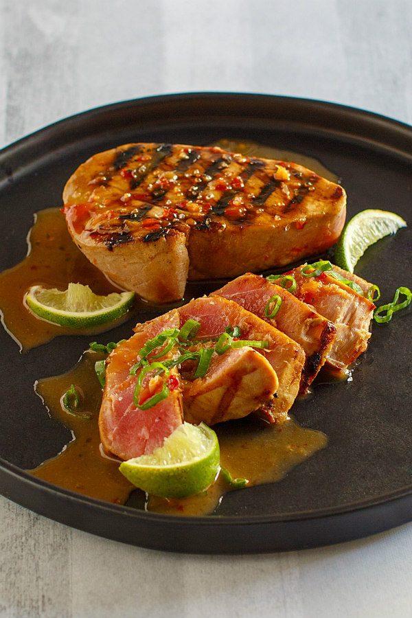 Lime Chili Marinated Tuna
