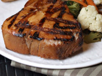 Maple Soy Grilled Tuna