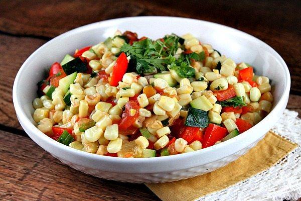 Mexican Corn recipe from RecipeGirl.com