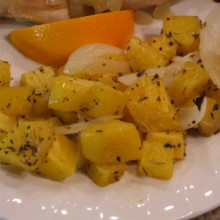 Roasted Butternut Squash with Herbs de Provence