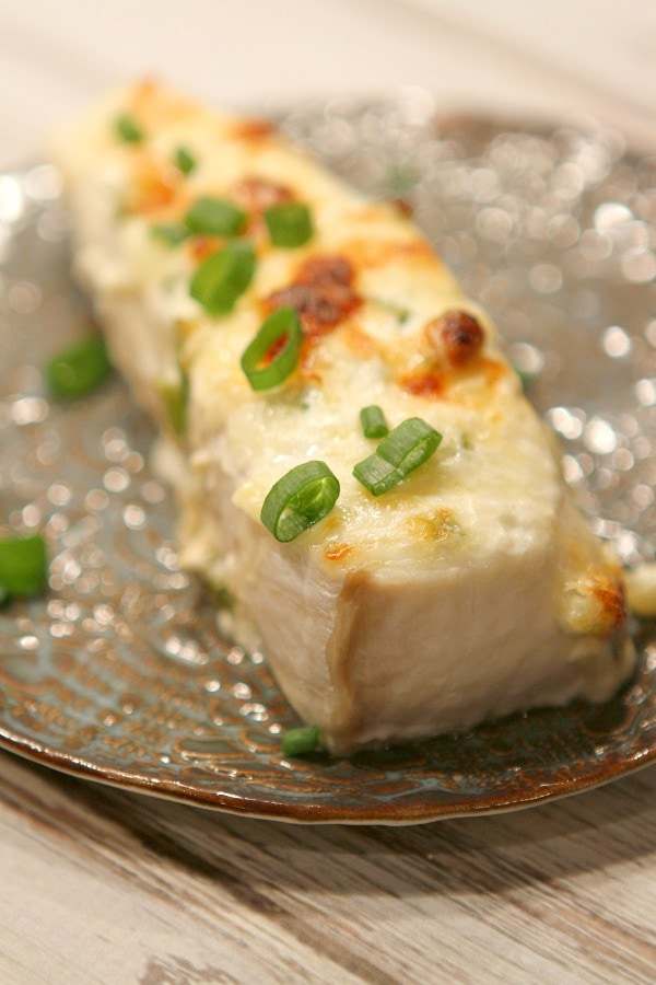 Swiss Parmesan Halibut