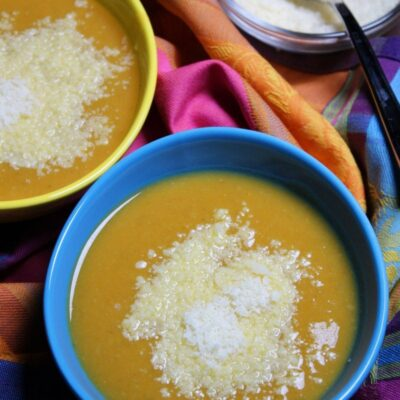 Tuscan Pumpkin White Bean Soup 1