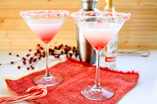 Candy Cane Swirl Drink Recipe