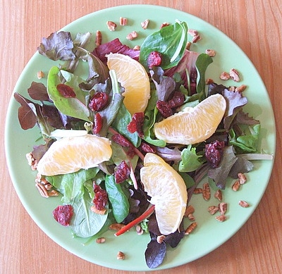 Field Salad with Citrus Vinaigrette