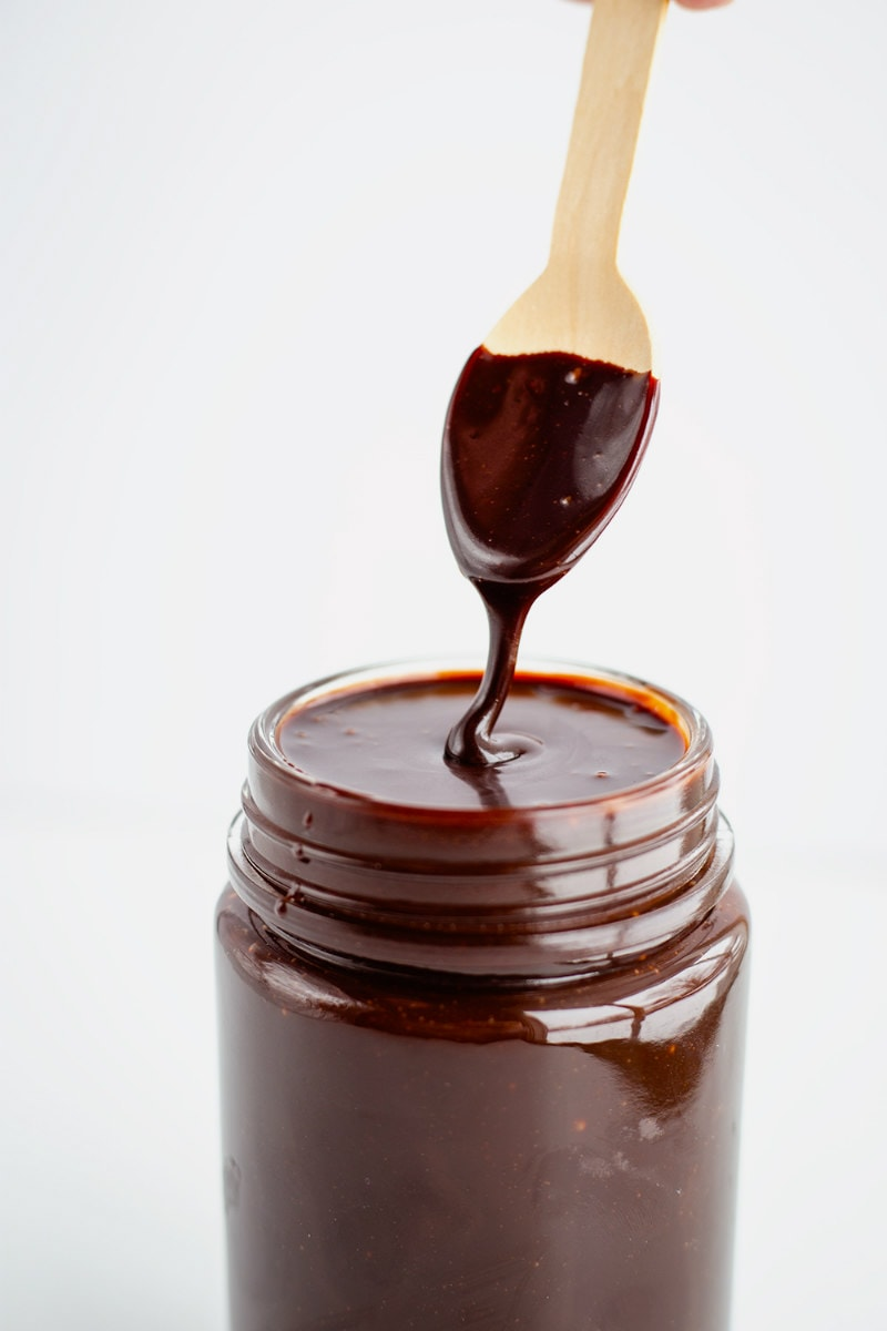 Chocolate Sauce in a jar