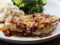 Chicken with Cider and Bacon Sauce600