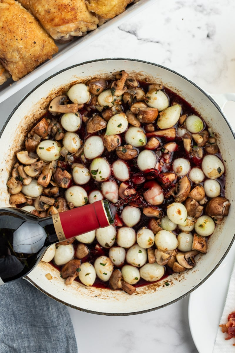 pot rooster sauce