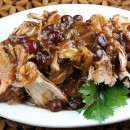 Crockpot Cranberry Pork