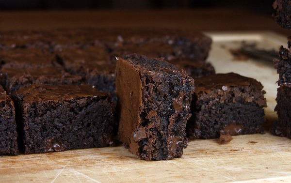 Deep Dark Brownies Recipe Girl