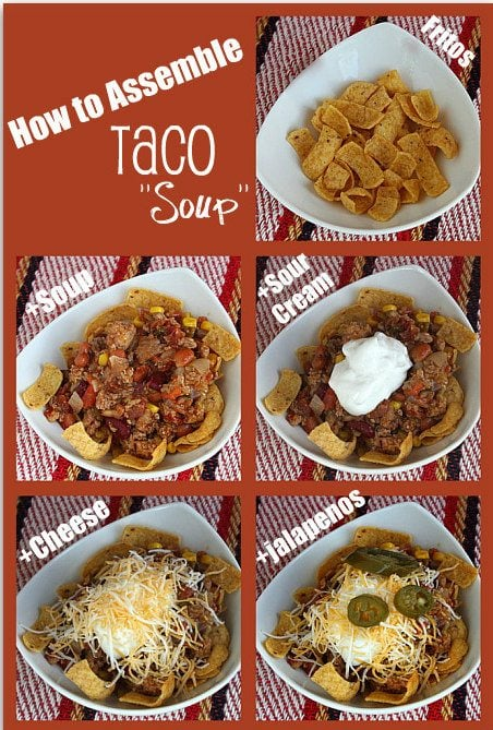 How to Make Easy Taco Soup by RecipeGirl.com