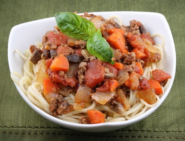 Weight Watchers Spaghetti Bolognese Recipe