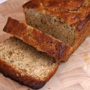 Agave Sweetened Low Fat Banana Bread