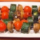 Chipotle Glazed Vegetable Kebabs