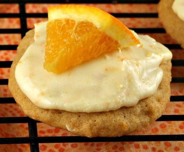 Iced Orange Cookie