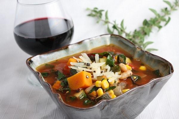 Italian Vegetable Soup RecipeGirl - Italian vegetable soup