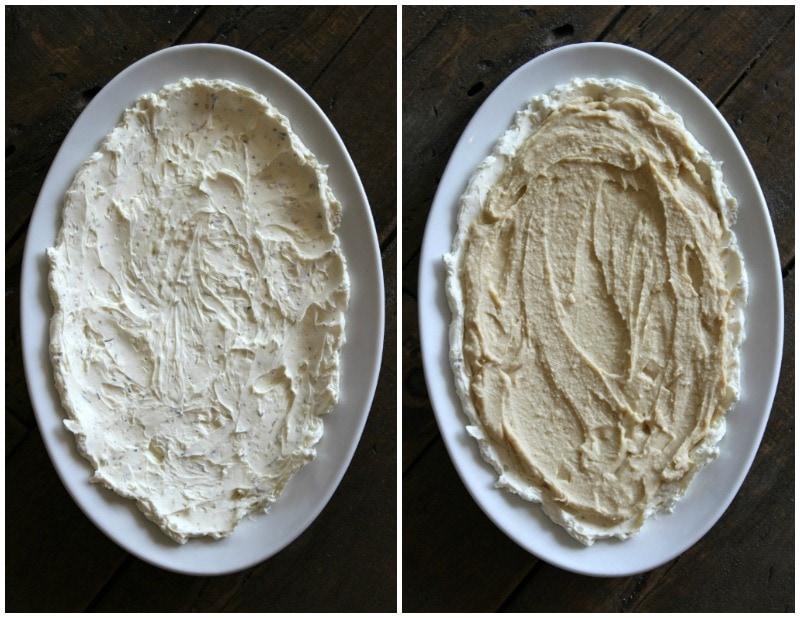 making layered Greek dip