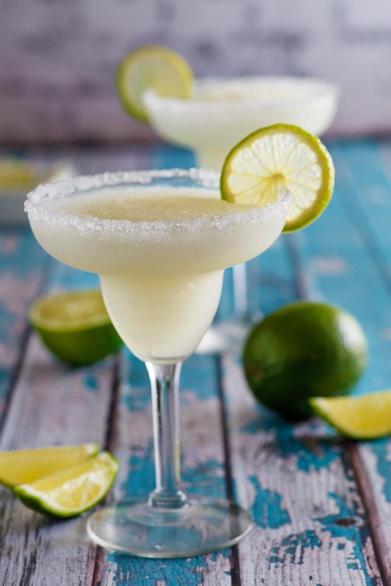 Non Alcoholic Mock Margaritas