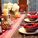 Portuguese Dinner Party Table Setting