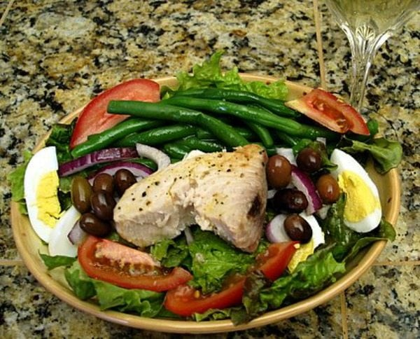 Salad Nicoise recipe - from RecipeGirl.com