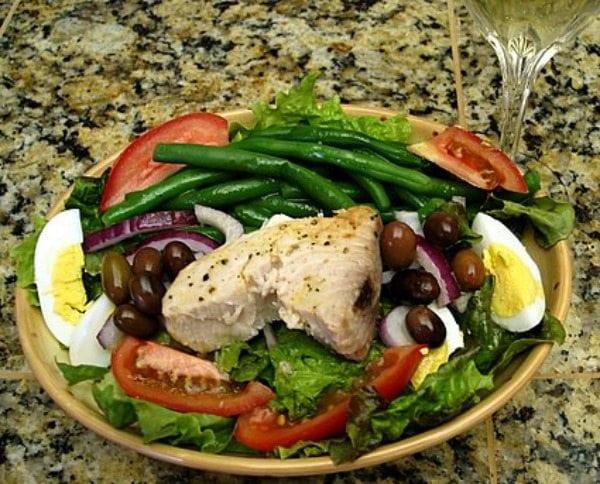 Salad Nicoise recipe - from RecipeGirl.com