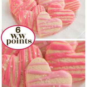 pinterest pin for weight watchers sugar cookies