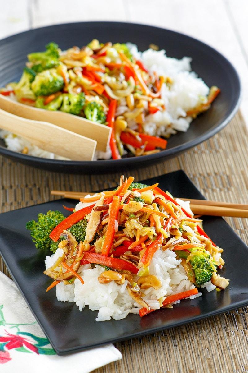 Asian Vegetable Stir Fry - Recipe Girl