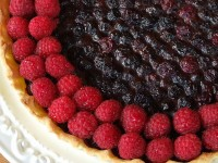 blueberry raspberry tart 3