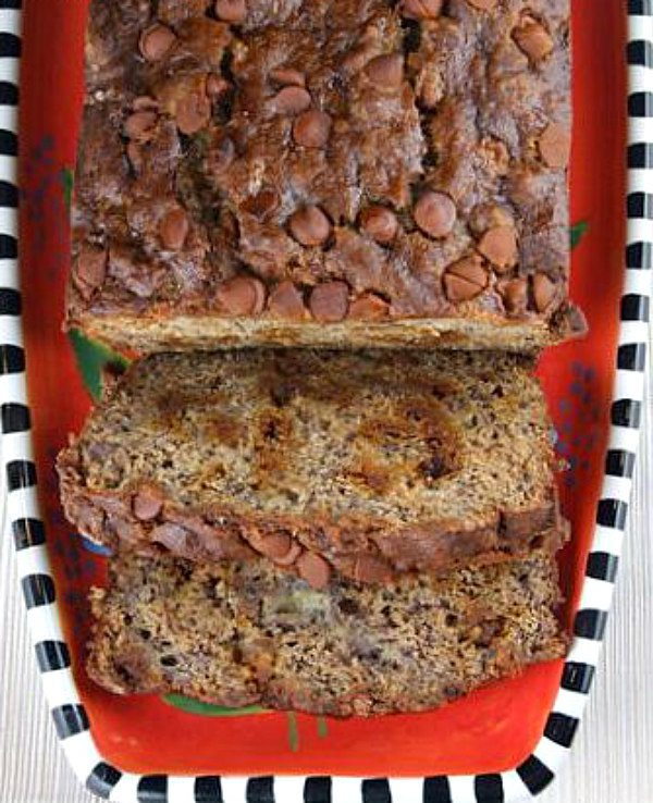 Cinnamon Chip Banana Bread Recipe - from RecipeGirl.com