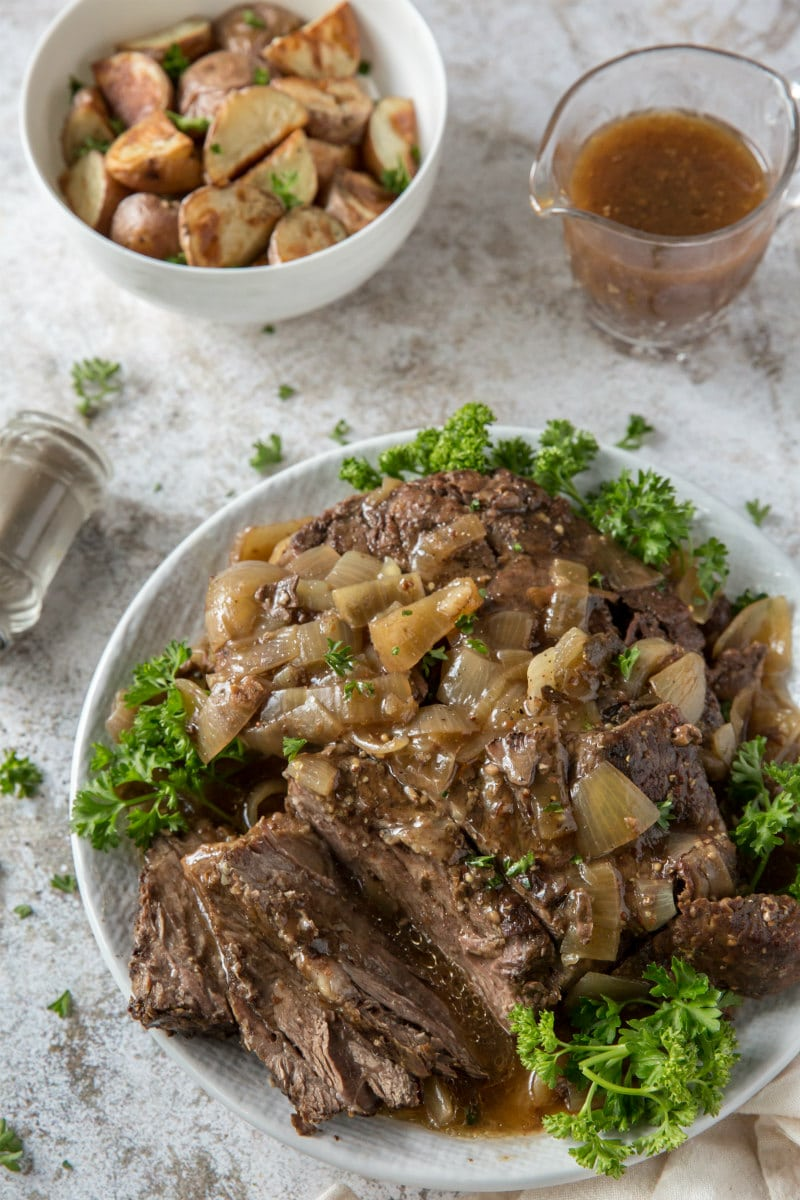 Black Forest Pot Roast with Gravy