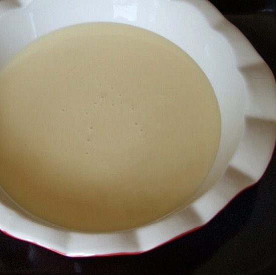 process for how to make dulce de leche