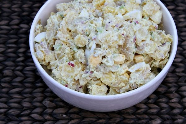 bowl of All American Potato Salad