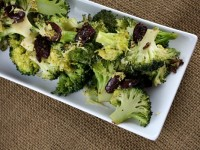 Broccoli with Olives and Garlic