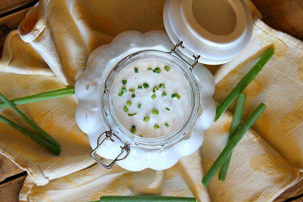 Classic Buttermilk Salad Dressing recipe - from RecipeGirl.com